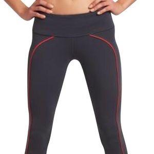 Splits 59 grey leggings with orange stripe